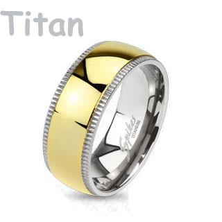 Titánový prsteň Spikes 4378