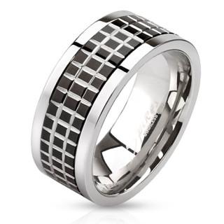 Oceľový prsteň Spikes 2808