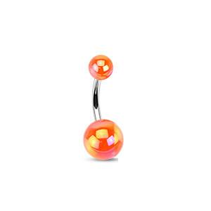 Piercing pupku 1103 - Orange