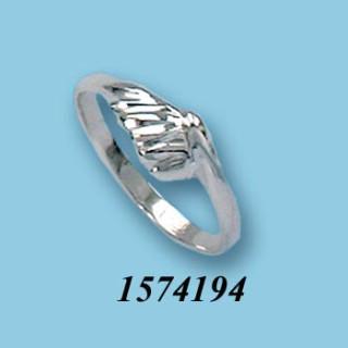 Strieborný prsteň 1574194