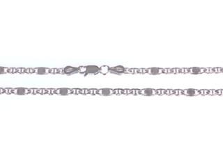 Strieborny retiazka na krk 3024560