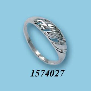 Strieborný prsteň 1574027