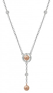 Oceľový náhrdelník MCNSS006
