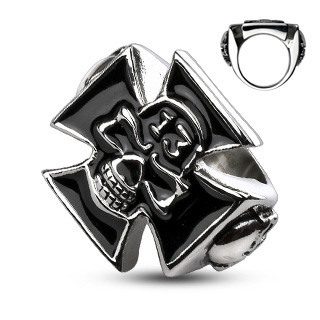Oceľový prsten Spikes 2016