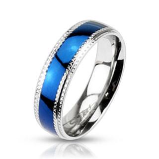 Oceľový prsteň Spikes 942