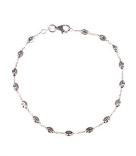 Elegantní stříbrný náramek 301048