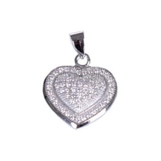 Strieborné srdce 303084