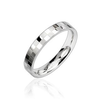 Oceľový prsteň Spikes 8002