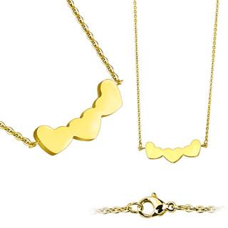 Ocelove náhrdelníky 6642-GD