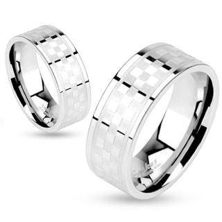 Oceľový prsteň Spikes 10172