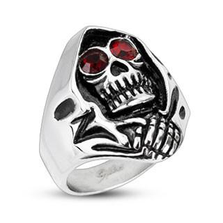 Pánsky prsteň Spikes 2178 - Smrtka