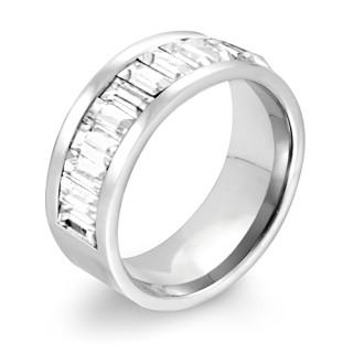 Oceľový prsteň MCRSS013