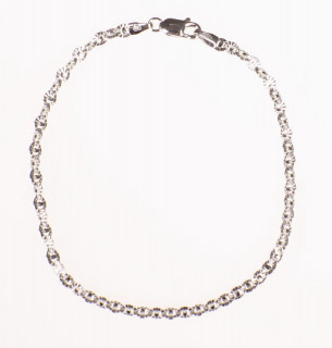 Elegantní stříbrný náramek 301870