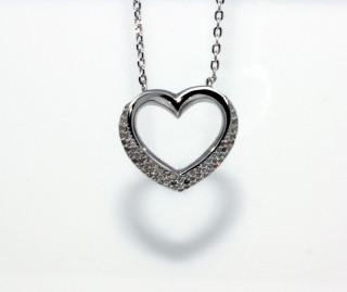 Dámsky náhrdelník srdce 306985