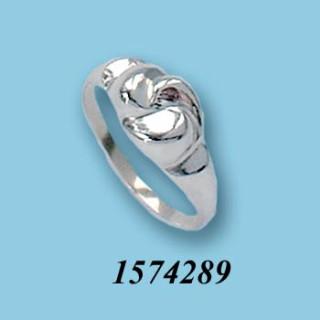 Strieborný prsteň 1574289