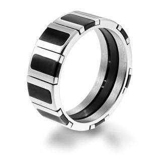 Oceľový prsteň 005