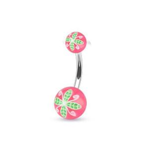 Piercing pupku 1108 - Rose