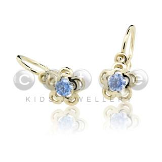 Dětské naušnice Cutie C2204-Z Arctic Blue