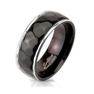 Titánový prsteň Spikes 3254