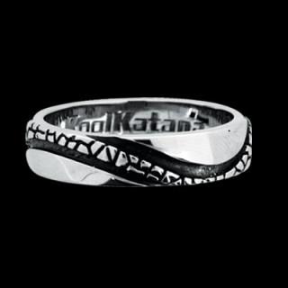 Oceľový prsteň KoolKatana 055
