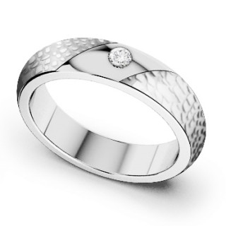 Oceľový prsteň MCRSS017