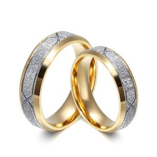 Snubné prstene chirurgická oceľ JCFCR052