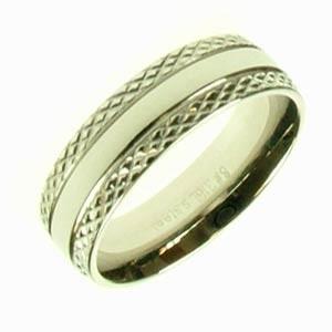 Oceľový prsteň R1338