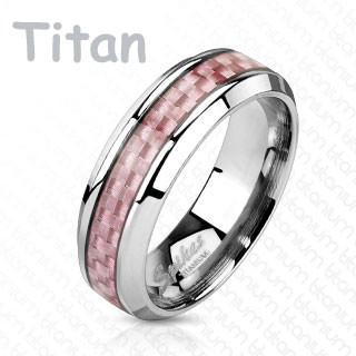 Titánový prsteň Spikes 4370
