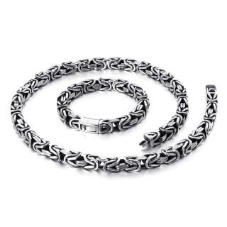 Súprava pánskych šperkov chirurgická oceľ WJHN100-10