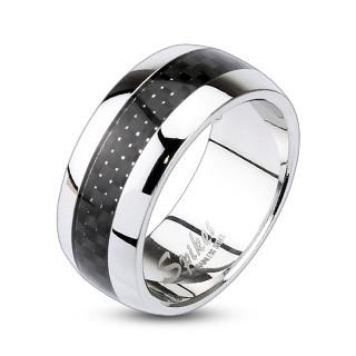 Oceľový prsten Spikes 0004